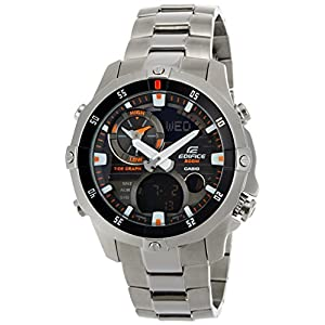 Casio Edifice Analog-Digital Multi-Color Dial Men's Watch - EMA-100D-1A1VDF (EX104)