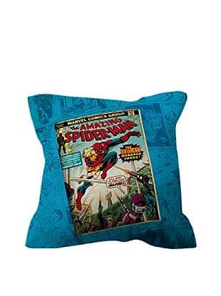Euromoda Funda De Cojín Spider Man Tebeo (Multicolor)