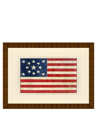 Reproduction of 1876 Centennial 13-Star American Flag, 24