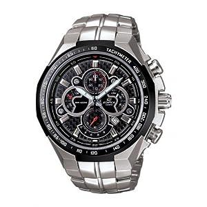 Casio Edifice Chronograph Black Dial Men's Watch - EF-554SP