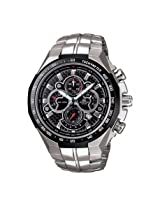 Casio Edifice Chronograph Black Dial Men's Watch - EF-554SP