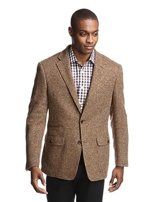 Ibiza Men's Arindi Herringbone Sportcoat (Brown/Multi)