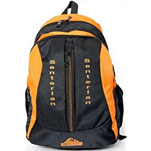 Senterlan 6001 Zipper Backpack-Orange