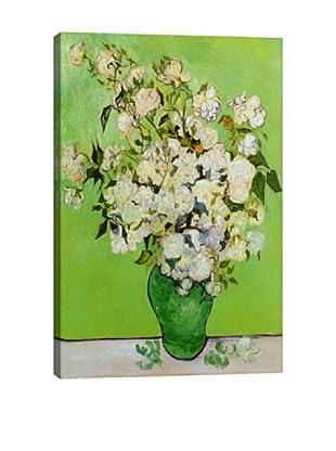 Vincent Van Gogh's Roses (1890) Giclée Canvas Print