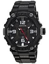 Sonata Analog Black Dial Men's Watch - 77014PP01