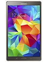 Samsung Galaxy Tab S T705 Tablet (8.4-inch, 16GB, WiFi, 3G, 4G LTE, Voice Calling), Titanium Bronze