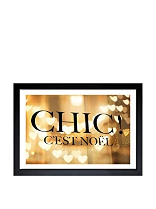 Oliver Gal Chic Noel Framed Art