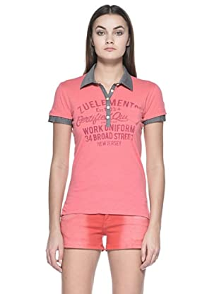 Zu Element Polo Wall Flowers (Coral)