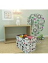 Home Candy Polka Cardboard Foldable Multi Utility Storage Box