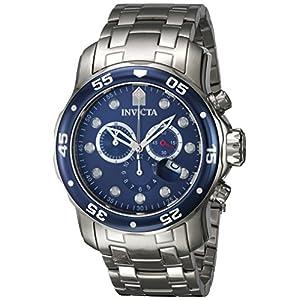 Invicta Analog Blue Dial Men's Watch - 70