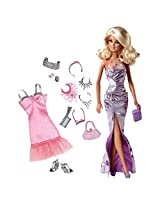 Barbie Sparkle Sweet Fashions Doll, Multi Color