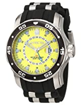 Invicta Men's 6988 Pro Diver Collection GMT Yellow Dial Sport Watch