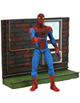 Diamond Select Toys Marvel Select Amazing Spider-Man Movie Action Figure, Multi Color
