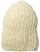 Coal Men's Thrift Knit Unisex Beanie, Creme, One Size