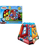 Thomas And Friends Railway Playland Inflatable Ball Pit With 50 Balls