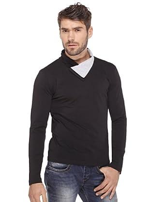 Santa Barbara Camiseta Fold (Negro)