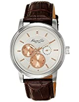 Kenneth Cole Dress Sport Analog Silver Dial Men'S Watch - 10019564