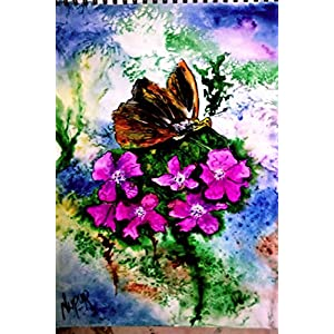 NUCreations Efflorescence - Original Painting - Water Color On Cartridge Paper