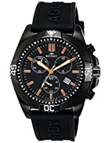 Rotary Analog Black Dial Men's Watch-AGS00021C04
