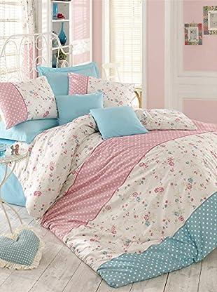 Colors Couture Bettdecke und Kissenbezug Emely