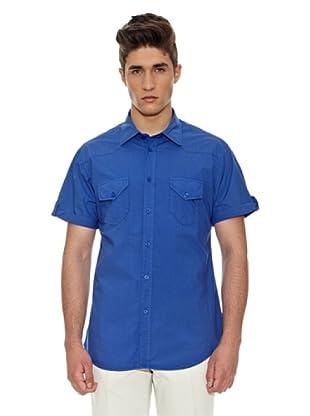 Carrera Jeans Camisa M/M (Azul Medio)