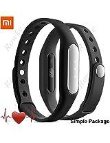 Xiaomi Mi Band 1S Heart Rate Monitor Smart Miband 2 Wristband Bracelet Fitness Wearable Tracker Smartband Black Color