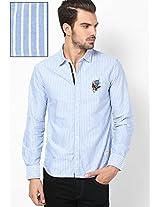 Blue Casual Shirt Ed Hardy