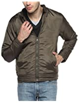Campus Sutra Charcoal Mens Jacket
