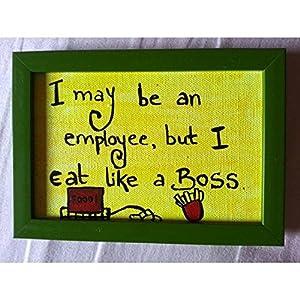 ART BEAT EMPLOYEE - EAT LIKE A BOSS