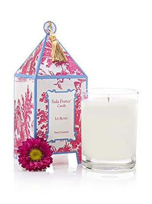 Seda France Lis Blanc Pagoda Candle, 10-Oz.
