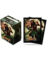Magic: The Gathering Xenagos Card Sleeves & Deck Box Set From Theros [1 Box, 80 Protectors] By Ultra Pro