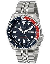 Seiko Mens SKX175 Automatic Dive Silver-Tone Watch
