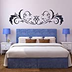 DeStudio Bold Floral Embelishment Wall Sticker|SIZE | LARGE | MEGENTA or PINK