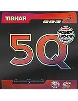 Tibhar 5Q Table Tennis Rubber - Black