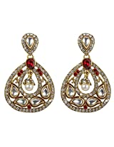Unique Bollywood Design Kundan Made Charm Look Bridal Fashion Earring For Women