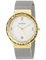 Skagen Analog White Dial Women's Watch - SKW2002