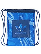 adidas Fabric 15.7 Ltrs Blue Gym Bag (4056559623043)