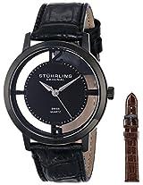 Stuhrling Original Classic Analog Black Dial Men's Watch - 388G2.SET.04