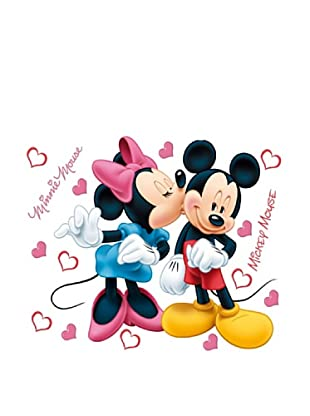 Pegatinas Decoración Mickey & Minnie 45 x 65