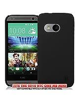 KAYSCASE HTC One M8 Mini (HTC One+ Mini, HTC One Plus Mini, HTC ONE 2 Mini) Slim Hard Shell Cover Case (Lifetime Warranty) (Black)