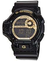 Casio G-Shock Digital Gold Dial Men's Watch - GDF-100GB-1DR (G341)