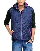 Yepme Men's Polyester Jacket (YPMJACKT0038_Multi-Coloured_XX-Large)