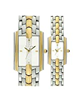 Titan Bandhan Analog White Dial Couple's Watch - NE19272927BM01
