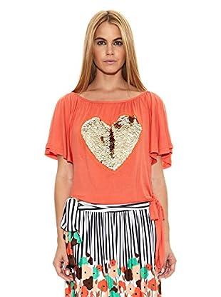 Barbarella Camiseta Magalie (Coral)