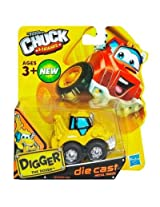Tonka Chuck & Friends - Digger The Dozer Truck - Die Cast Metal Truck