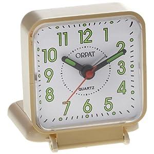Orpat Beep Alarm Clock (Apricot, TBB-157)