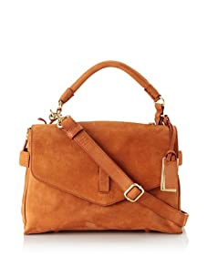 Gryson Women's Ruby Solid Belted Top Handle Messenger (Spice)