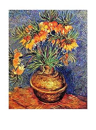 LegendArte  Wandbild Kaiserkronen in einer Kupfervase von Vincent Van Gogh