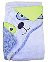 "Extra Large 40""x30"" Absorbent Hooded Towel, Dog, Frenchie Mini Couture"
