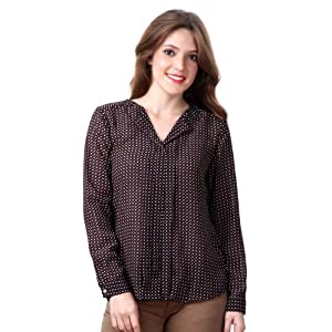 Patterned Casual Top